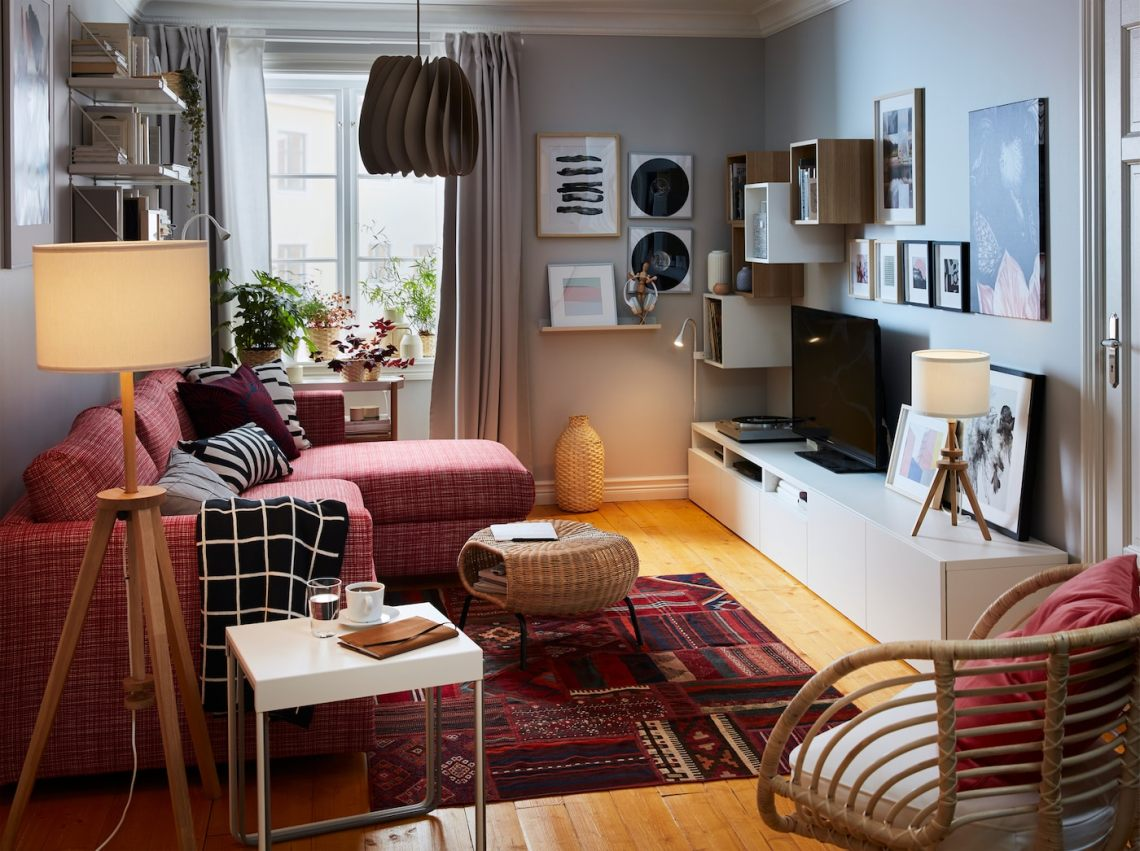 A Warm And Inviting Living Room Ikea
