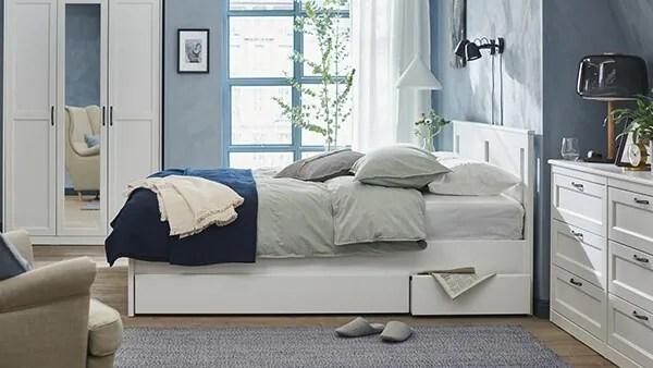 Sei in cerca di ispirazione per l'arredamento della tua camera da letto? Camere Da Letto Per Ogni Esigenza Di Stile E Budget Ikea It