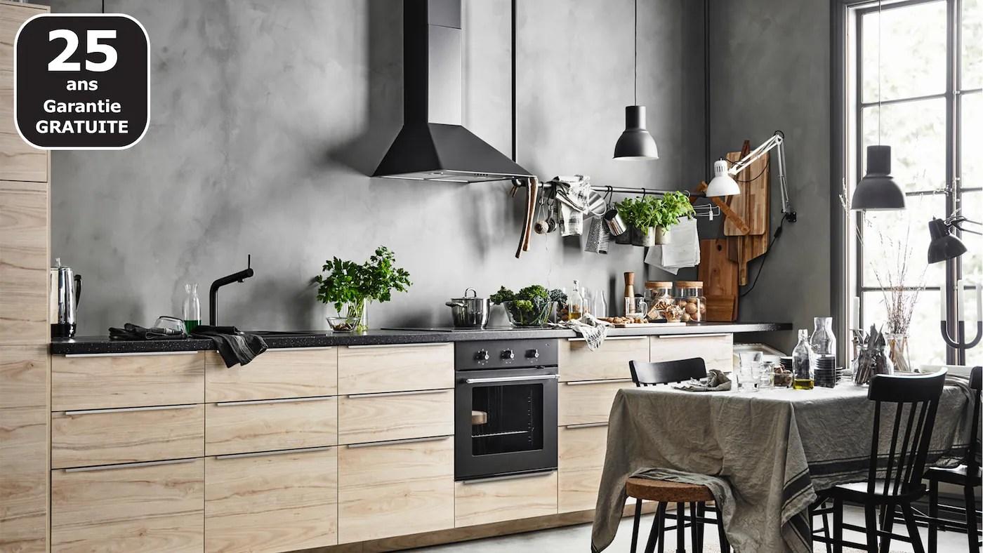 Cuisine équipée Cuisines Pas Cher Sur Mesure Ikea