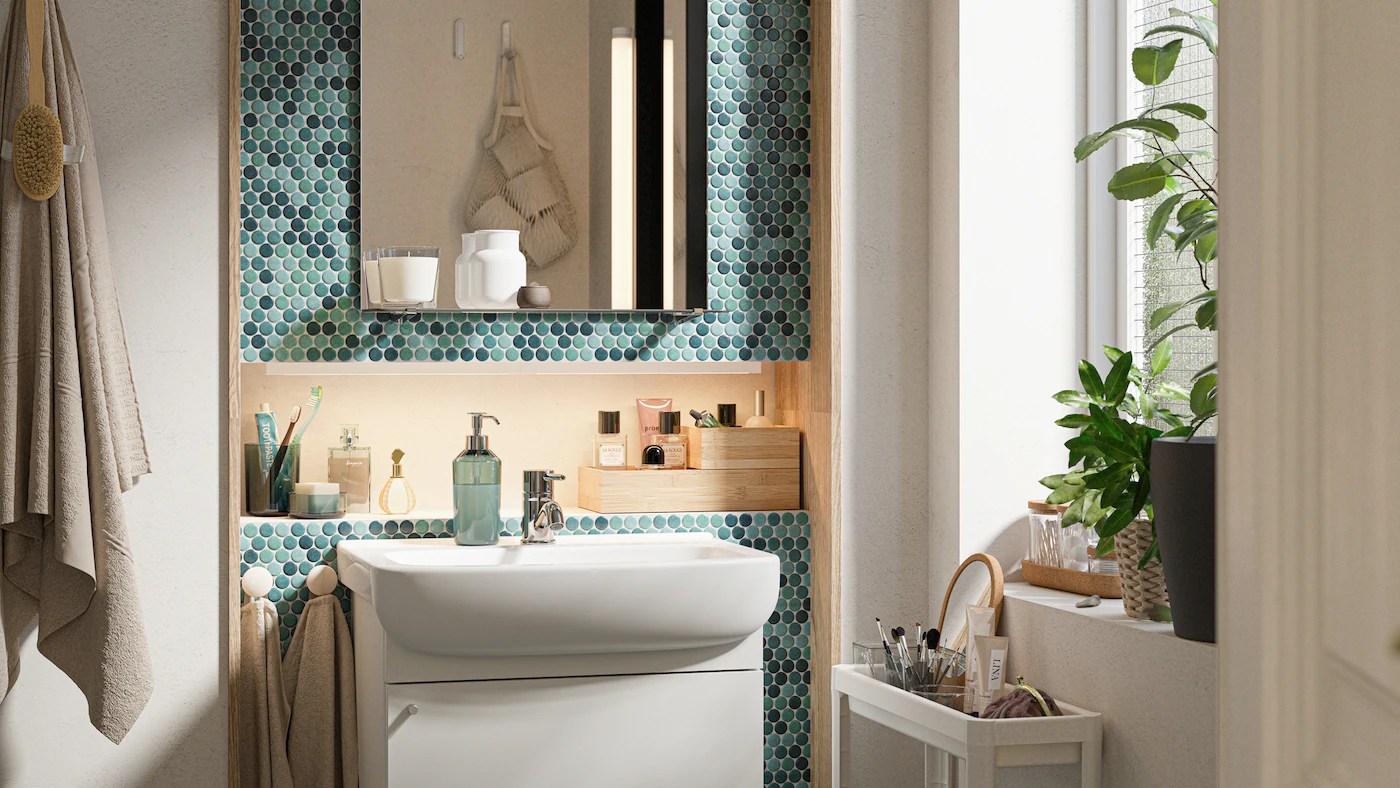 In secondo luogo, gli accessori per il bagno devono essere belli, piacevoli e in linea con l'arredo del bagno. Arredamento Per Il Bagno Idee E Soluzioni Ikea It