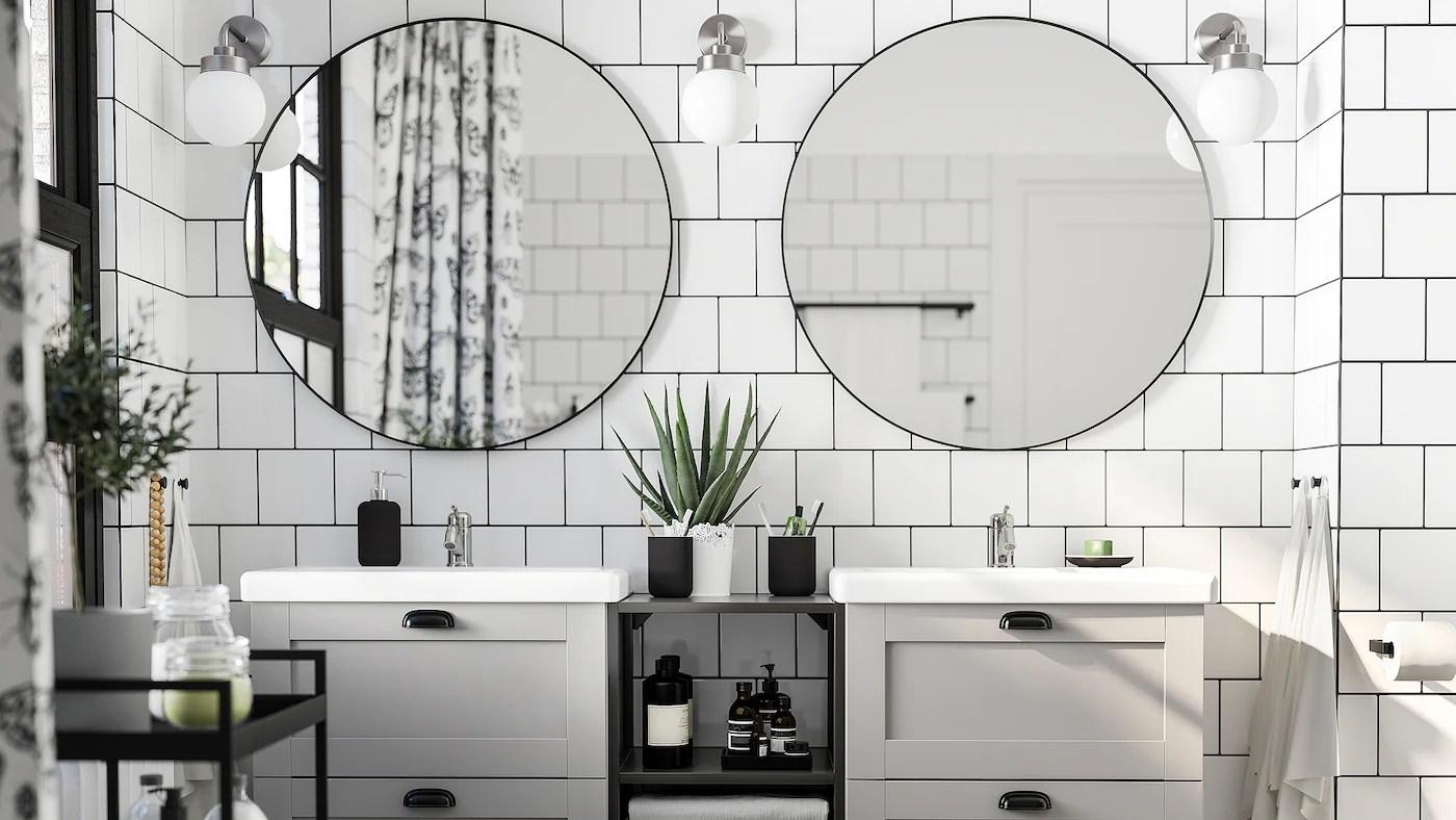 Pensile bagno da muro flaren ikea bianco come nuovo 2. Una Galleria Di Ispirazioni Per Il Bagno Ikea It