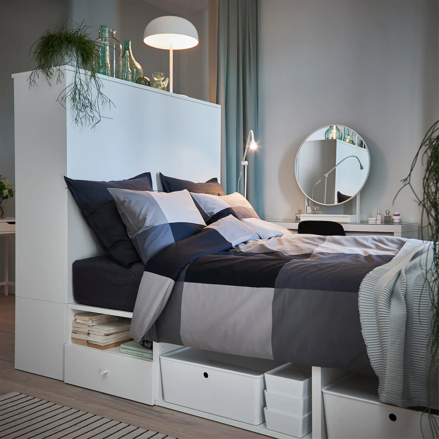 Dalle camere la letto in stile tradizionale e quelle dal design più moderno o minimal, ikea propone. Camera Da Letto E Soggiorno Tutto In Uno Ikea Svizzera