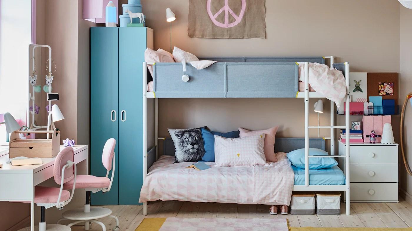 20 camere da letto eccezionali in meno di 10 mq camera da. Una Cameretta Per Due Che Fa Spazio Alla Creativita Ikea It