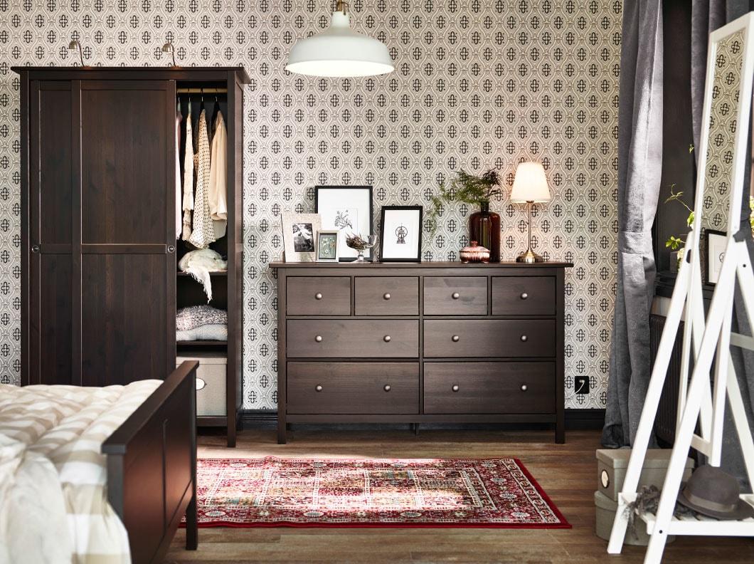 Una Camera Da Letto Dallo Stile Tradizionale Ikea