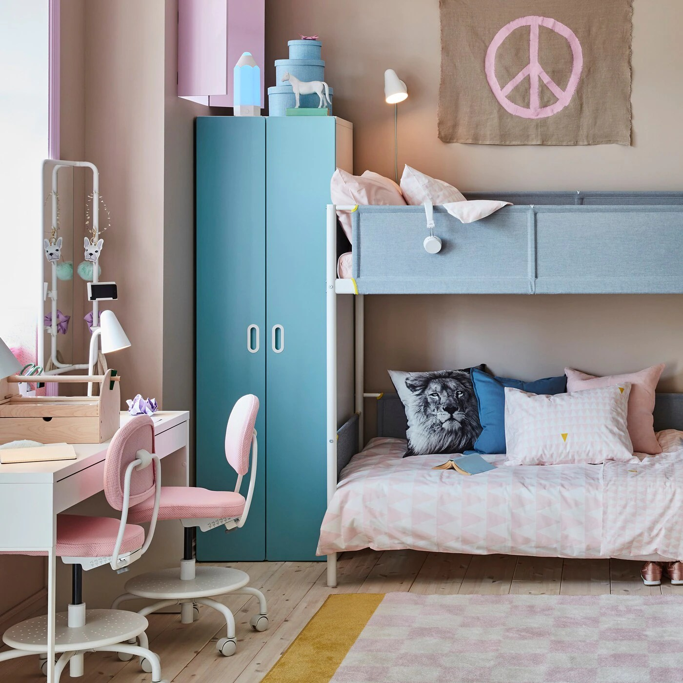 48 Beautiful Photos Of Design Decisions Glamorous Ikea Kids Bedroom Ideas Wtsenates Info