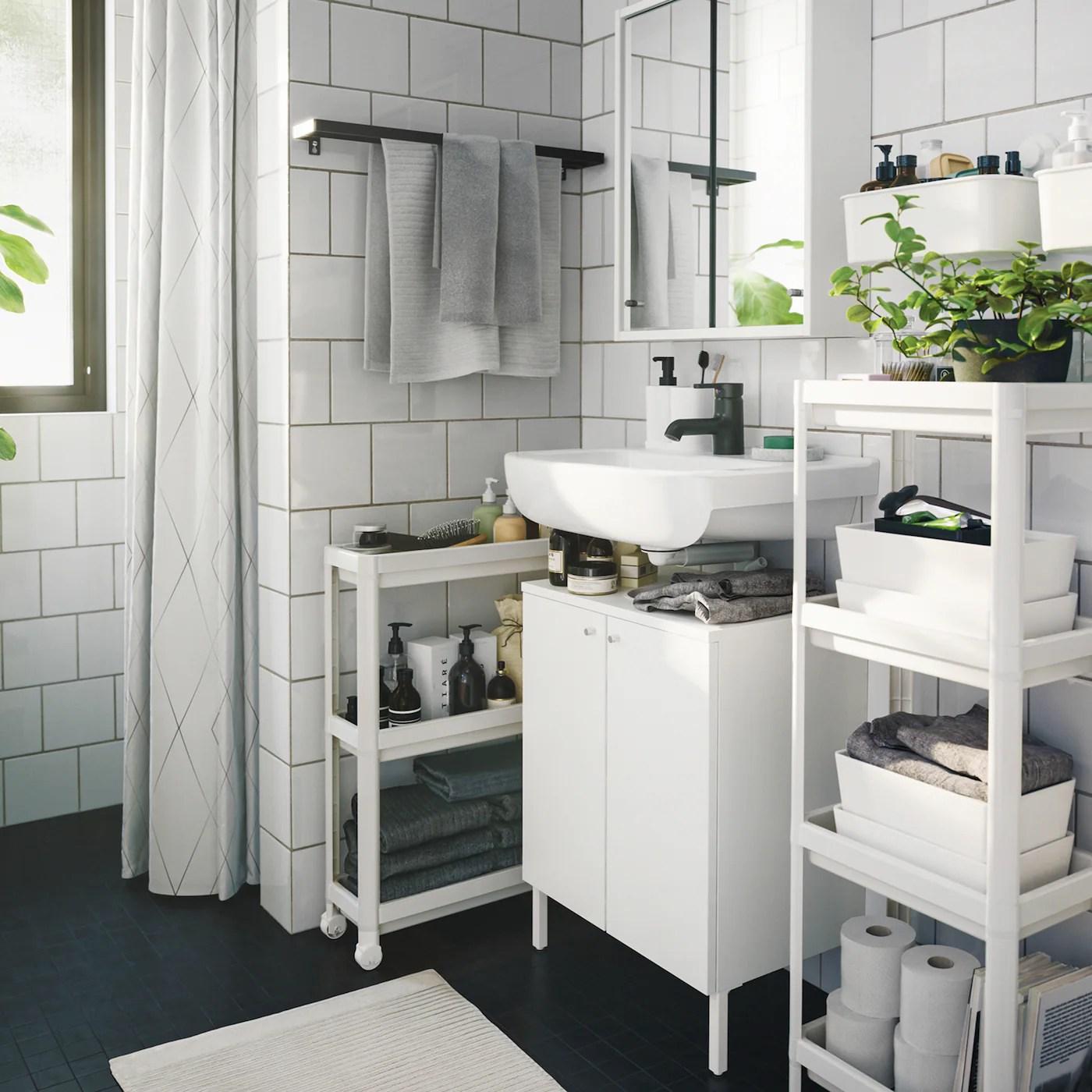 21,39 €   mobile bagno e pensile ikea: Arredamento Per Il Bagno Idee E Soluzioni Ikea It