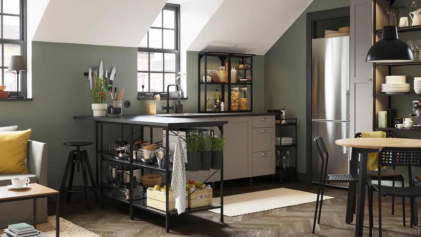 Qualunque sia il tuo stile, puoi scegliere tra infinite possibilità per creare, rinnovare o completare la cucina dei tuoi sogni. Una Galleria Di Spunti Di Ispirazione Per La Cucina Ikea It