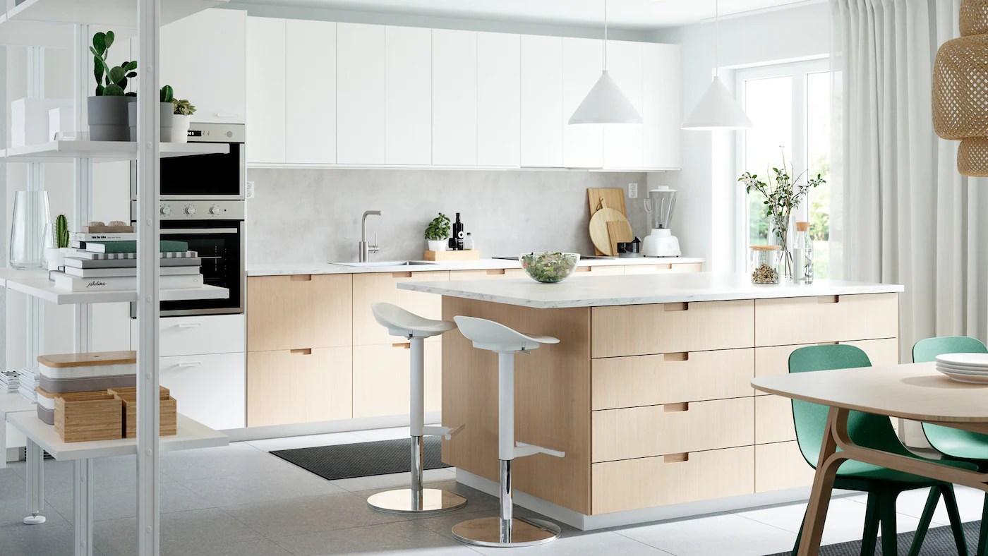 It would be perfect as bedside tables, for the living room or even a smaller entrance. Una Galleria Di Spunti Di Ispirazione Per La Cucina Ikea It