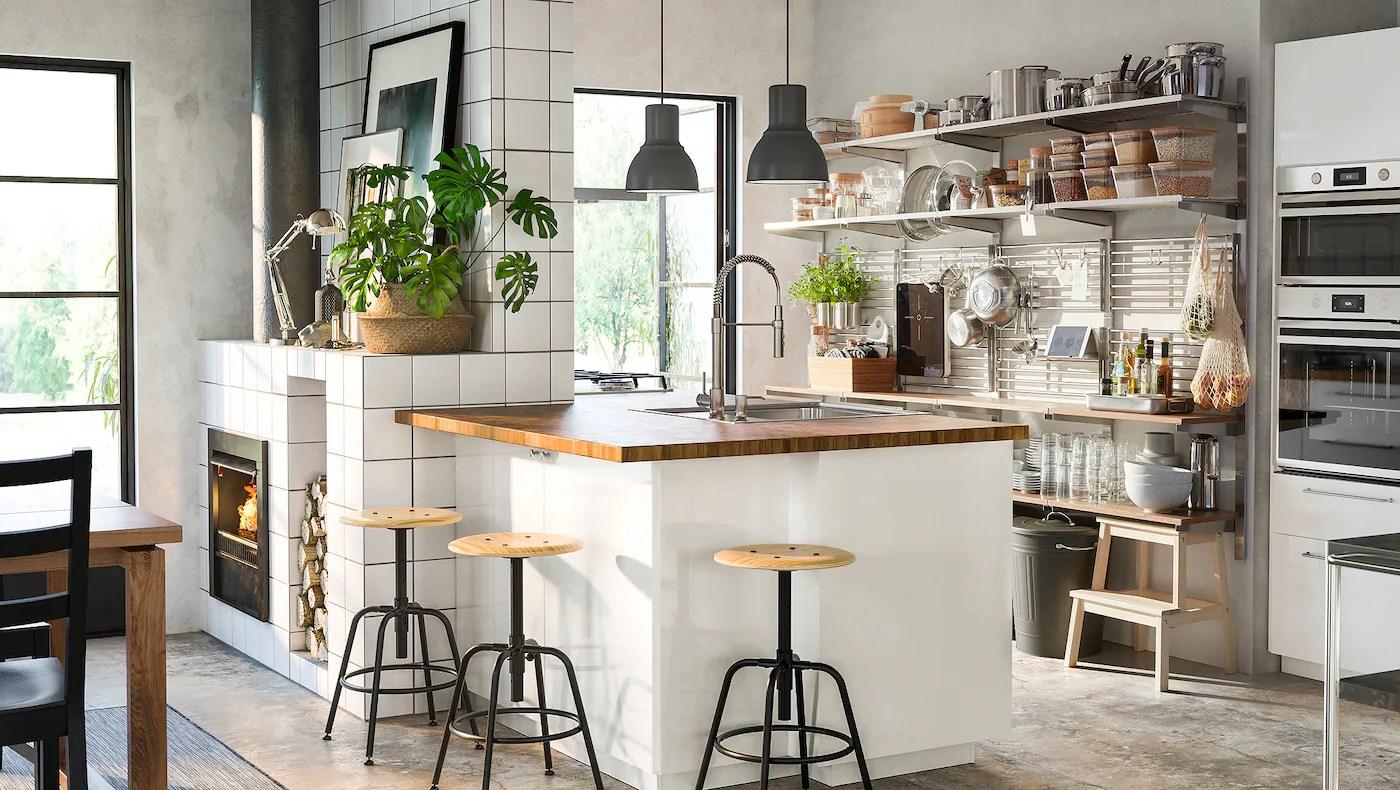 Mobili da cucina al miglior prezzo. Cucina Ringhult Bianco Lucido Elegante E Splendente Ikea It