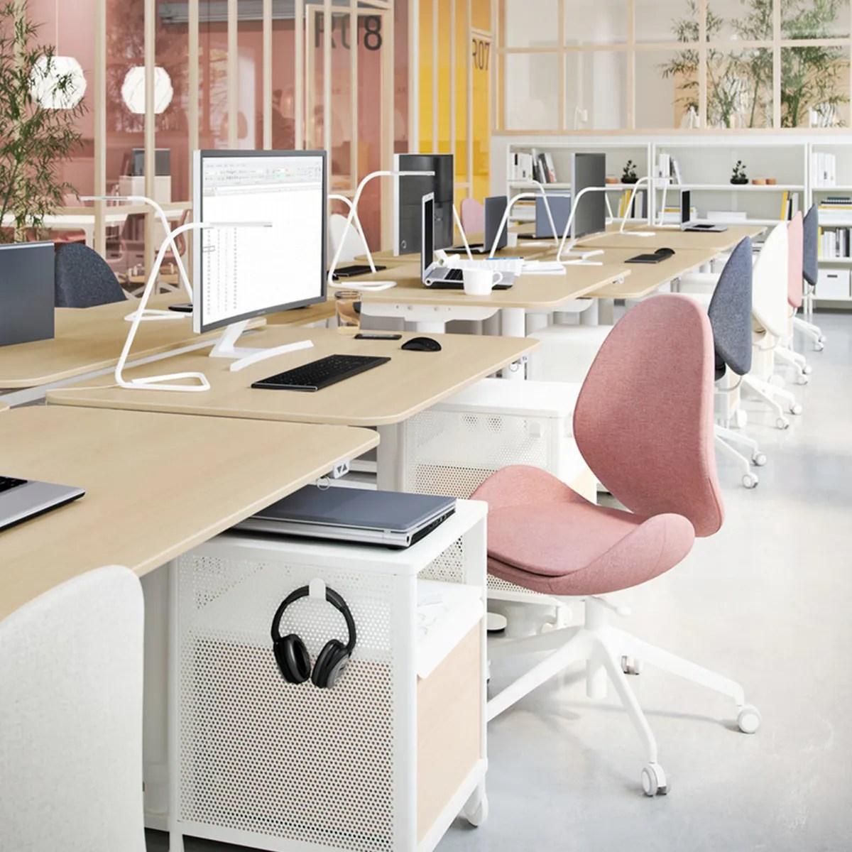 Scrivanie ikea e postazioni lavoro per casa; Arredamento Ufficio Ikea Ergonomici Smart E Durevoli Ikea Svizzera