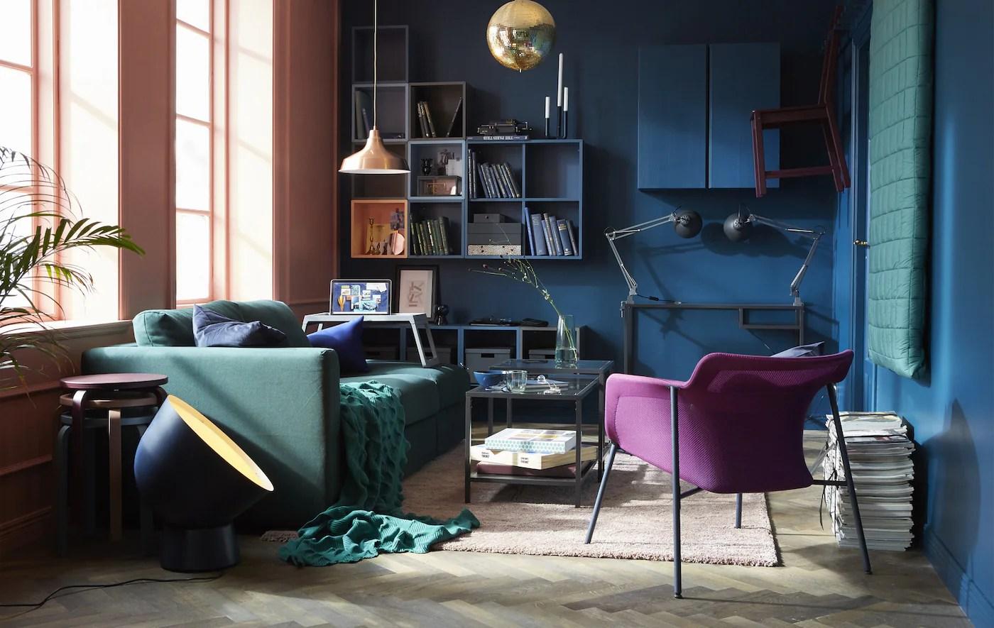 En Indbydende Stue Ikea