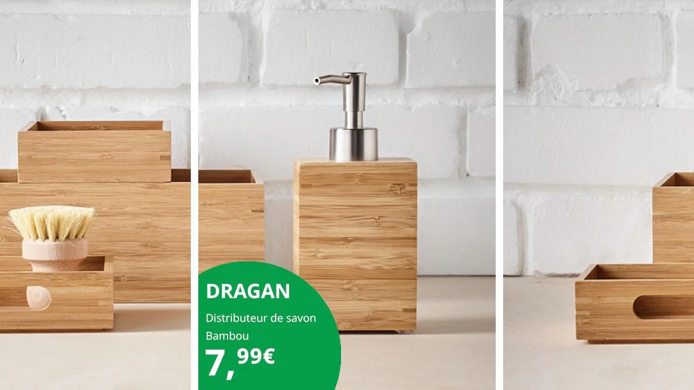 litica abeceda tama accessoires de salle de bain en bois