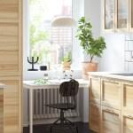 Skandinavische Kuche Aus Holz Einrichten Ikea Deutschland