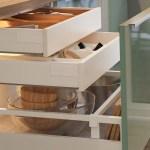 Organisierte Schublade Ordentlicher Kuchenschrank Ikea Osterreich