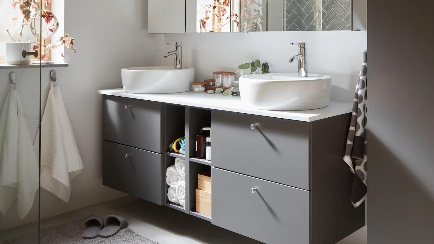 Sma Og Stilfulde Ideer Til Badevaerelset Ikea