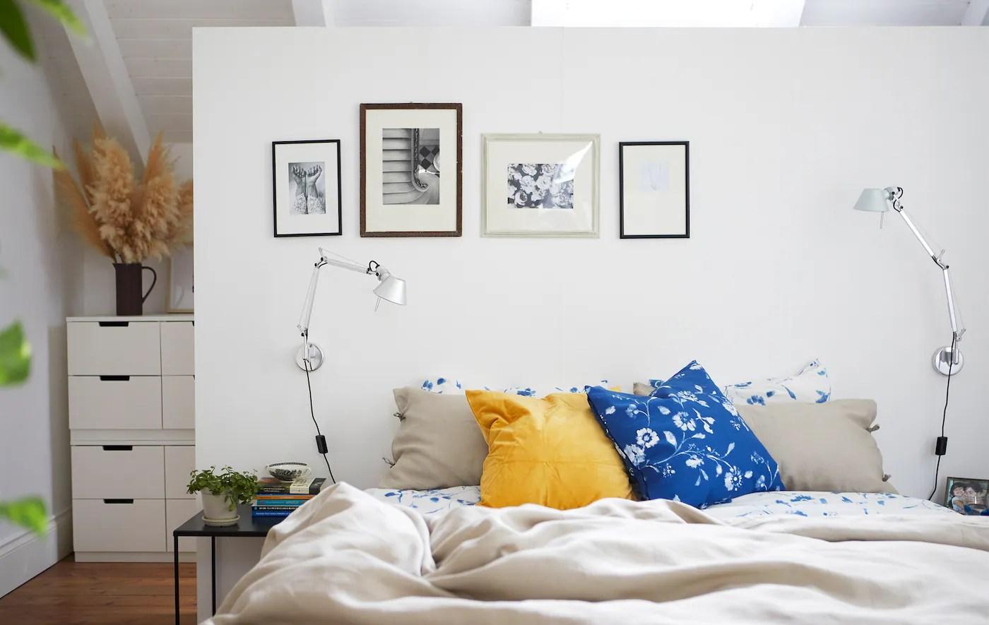 Inspiration Til Et Roligt Og Afslappende Sovevaerelse Ikea