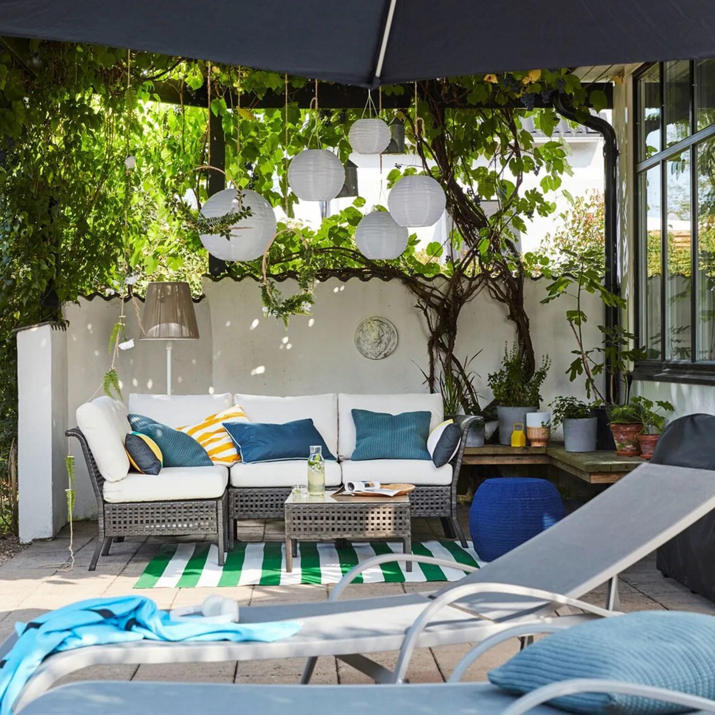 An Outdoor Living Room Ikea Switzerland