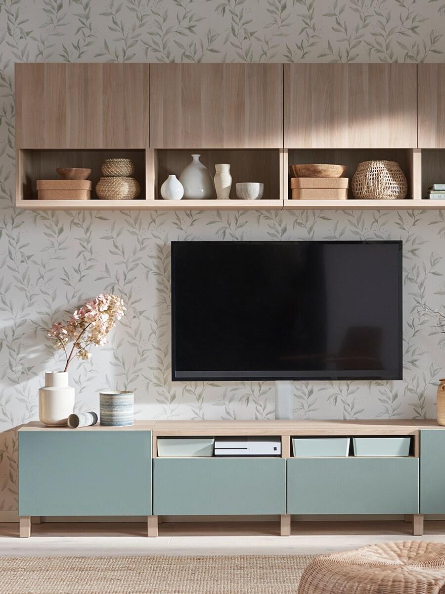 Leggi l articolo camera da letto ikea hopen mobili minimal per la. Un Soggiorno Versatile Per Tutta La Famiglia Ikea It