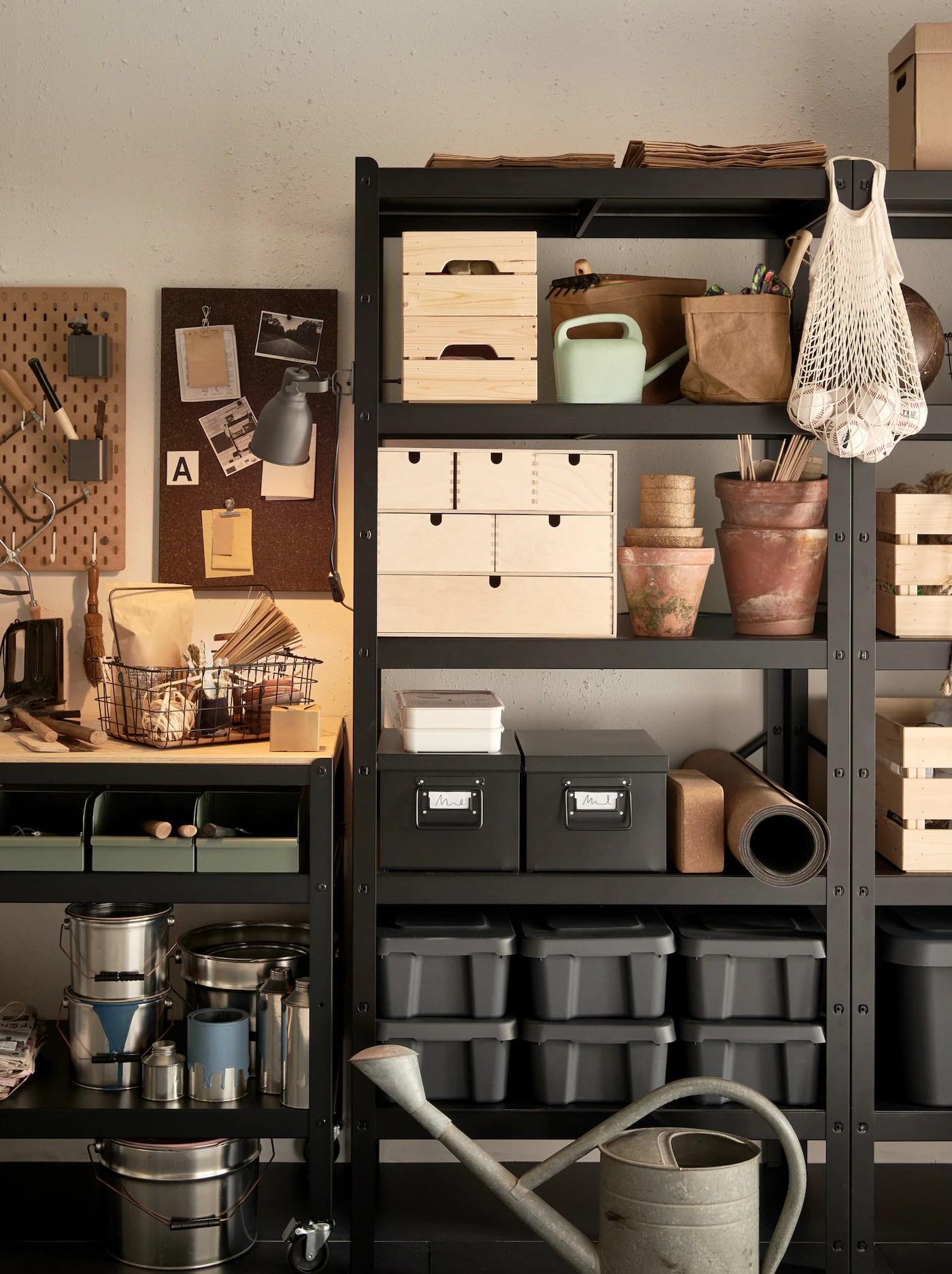reorganiser le garage ikea ca