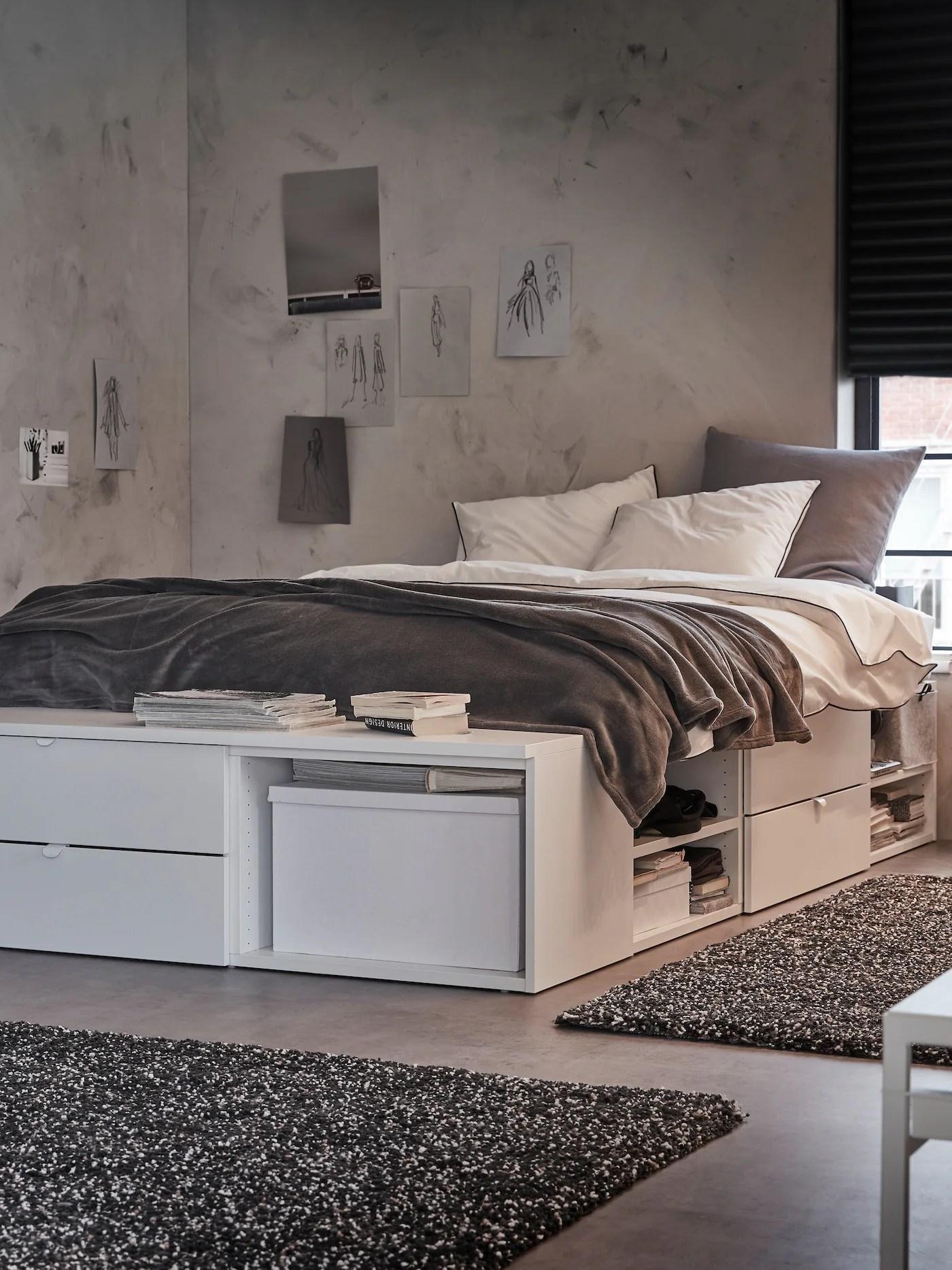 Vuoi una camera da letto sostenibile e di design sfoglia con noi il nuovo catalogo ikea 2021 tantissime soluzioni a prezzi contenuti vediamole insieme. Idee Per L Arredamento Per La Camera Da Letto Ikea Svizzera