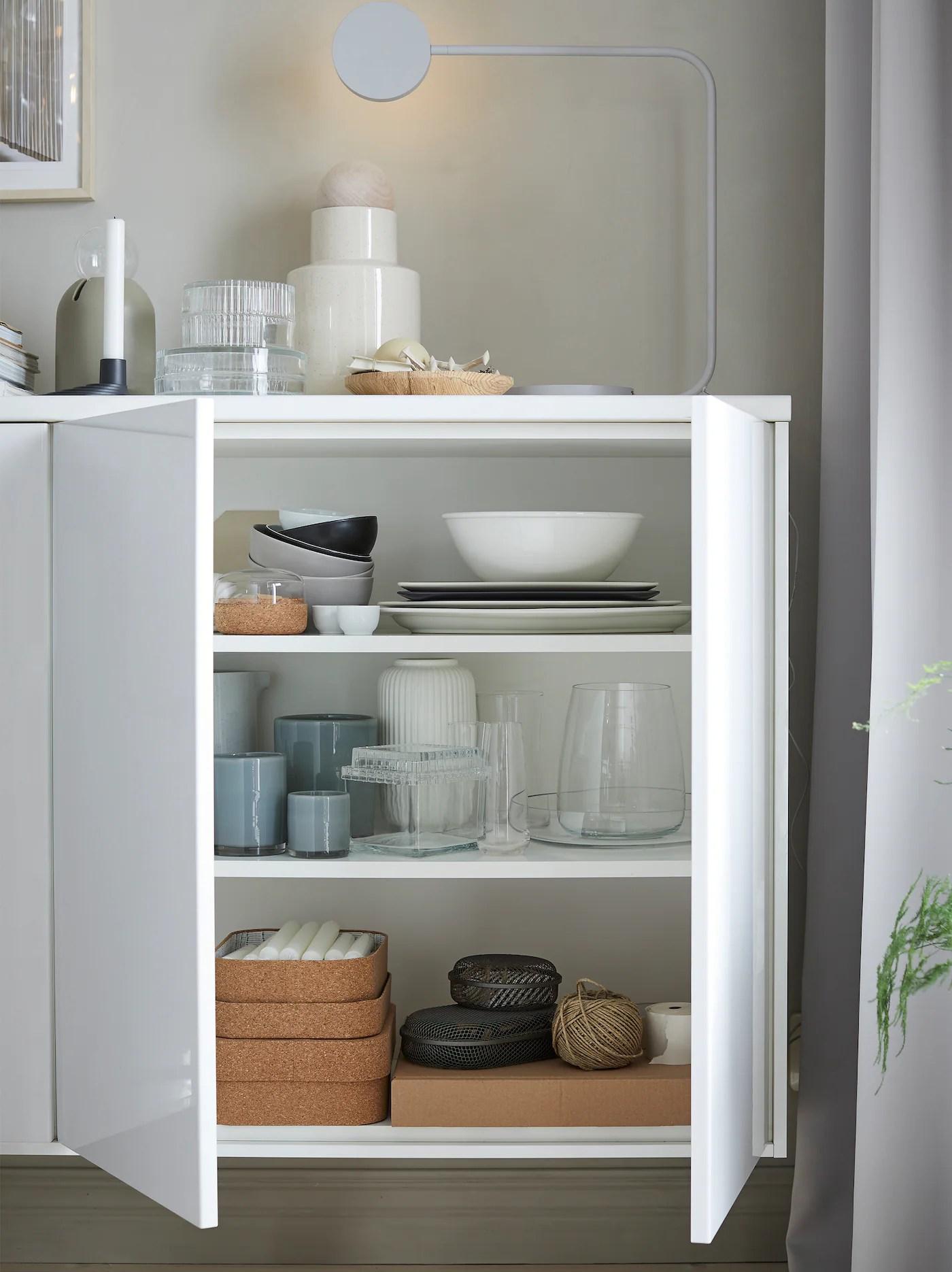 Mobili alti ikea in vendita in arredamento e casalinghi: Cucina Ringhult Bianco Lucido Elegante E Splendente Ikea It