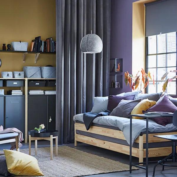 La maggior parte dei mobili in vendita presso il colosso nordeuropeo dell'arredamento sono, provate ad indovinare, in stile scandinavo. Idee Per Arredare La Camera Da Letto Ikea Ikea Svizzera