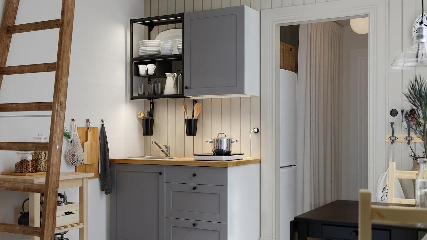 Le nostre idee e gli strumenti, mobili e cucine ikea includono tutto, dai piccoli spazi ai design più innovativi, dalle cucine componibili a quelle standard. Sfrutta Ogni Centimetro Con Una Cucina Enhet Ikea It