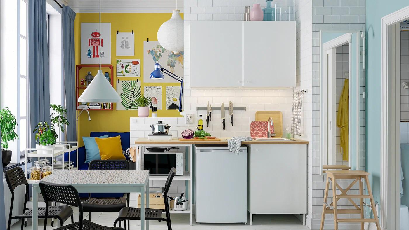 Se amiamo lo stile delle cucine country chic possiamo portarlo anche in casa. Una Galleria Di Spunti Di Ispirazione Per La Cucina Ikea It
