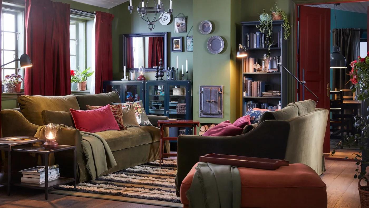 Din Fleksible Stue Til Hele Familien Ikea
