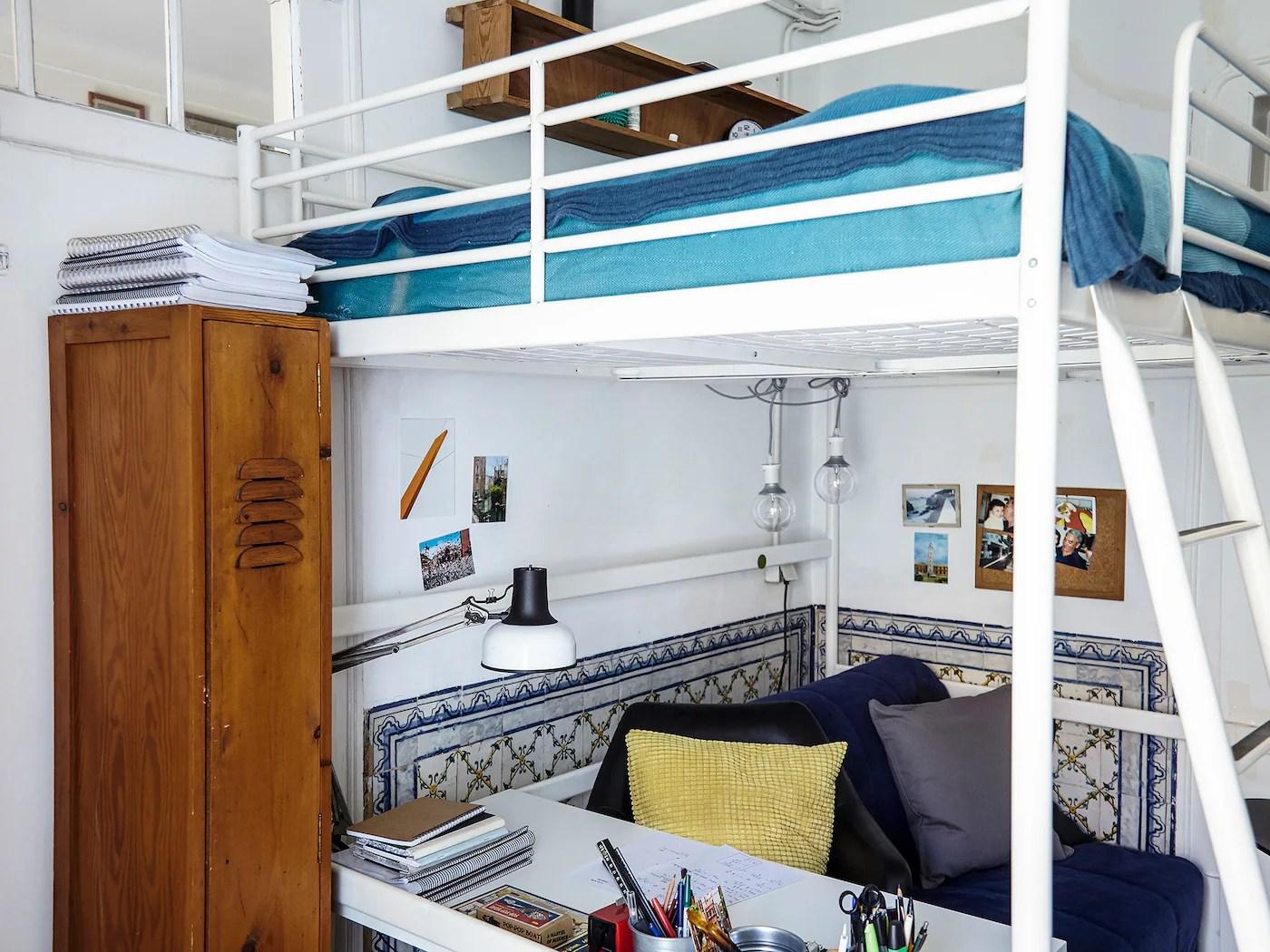 Download Ikea Loft Bed Decorating Ideas Pics