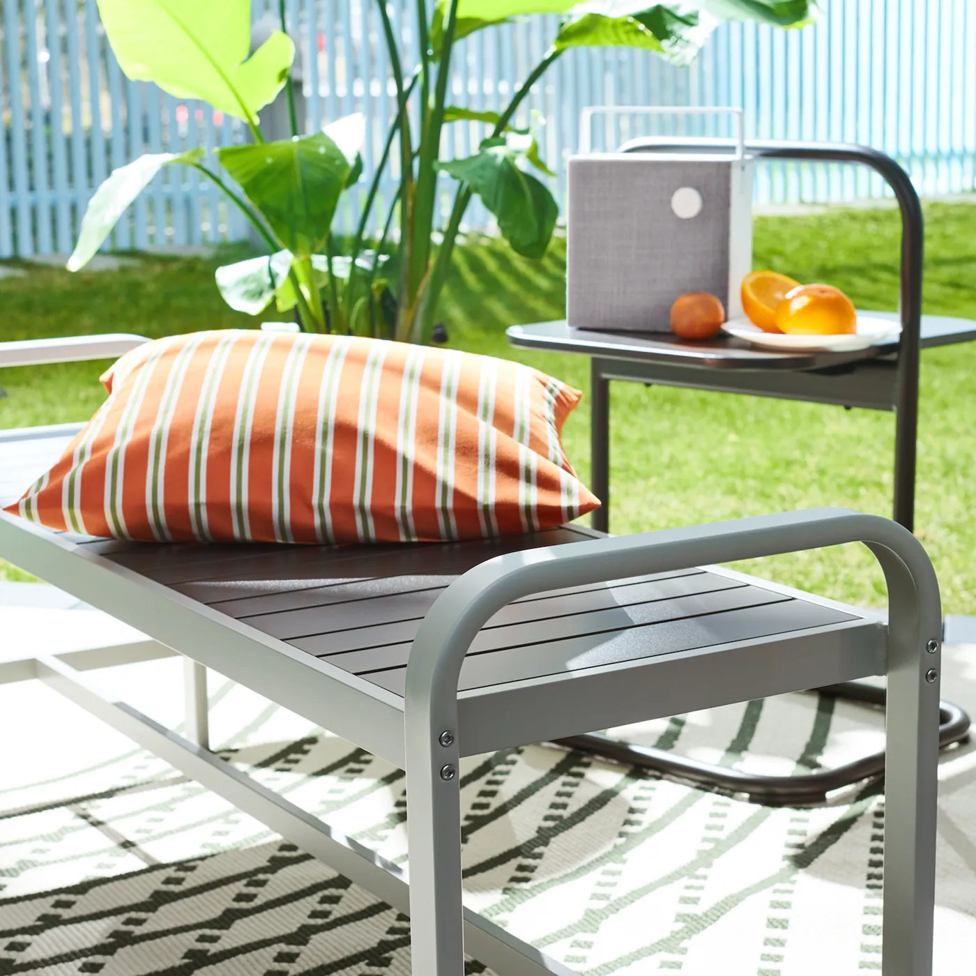 update with new outdoor furniture ikea