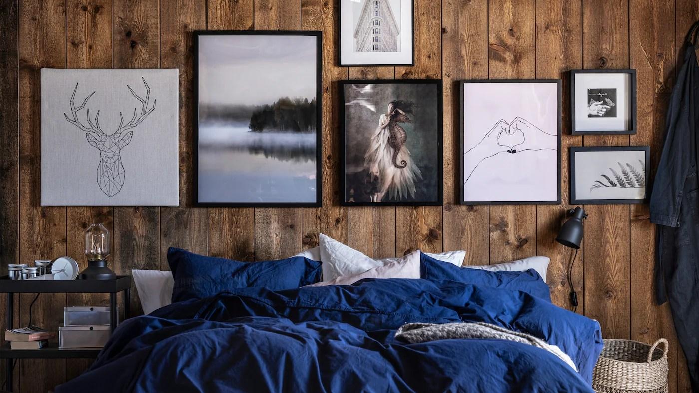 Lokabrunn è la stampa perfetta per la vostra camera da letto. Decorazioni Da Parete Per Ogni Stile Ikea Svizzera