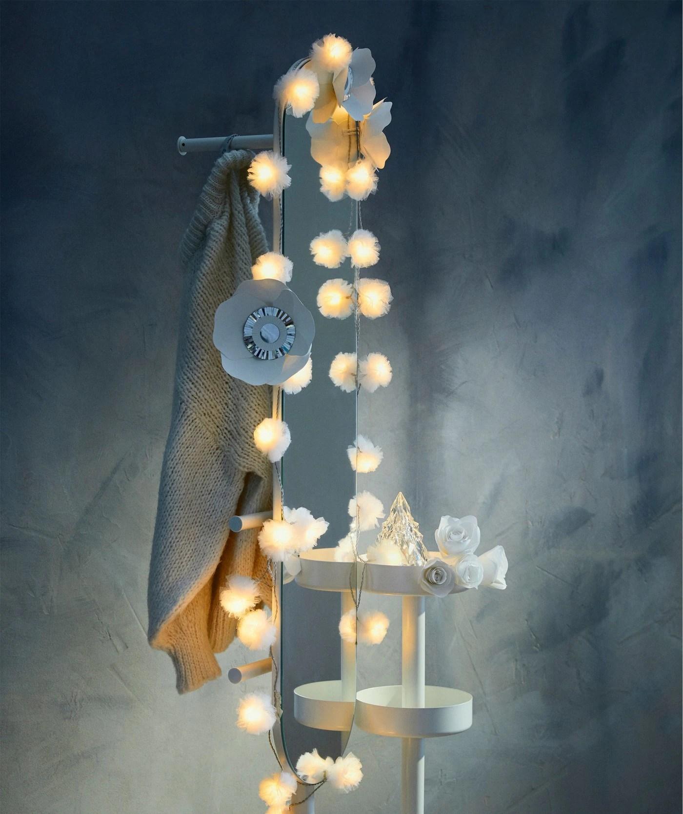 Les Guirlandes Lumineuses C Est Toute L Annee Ikea