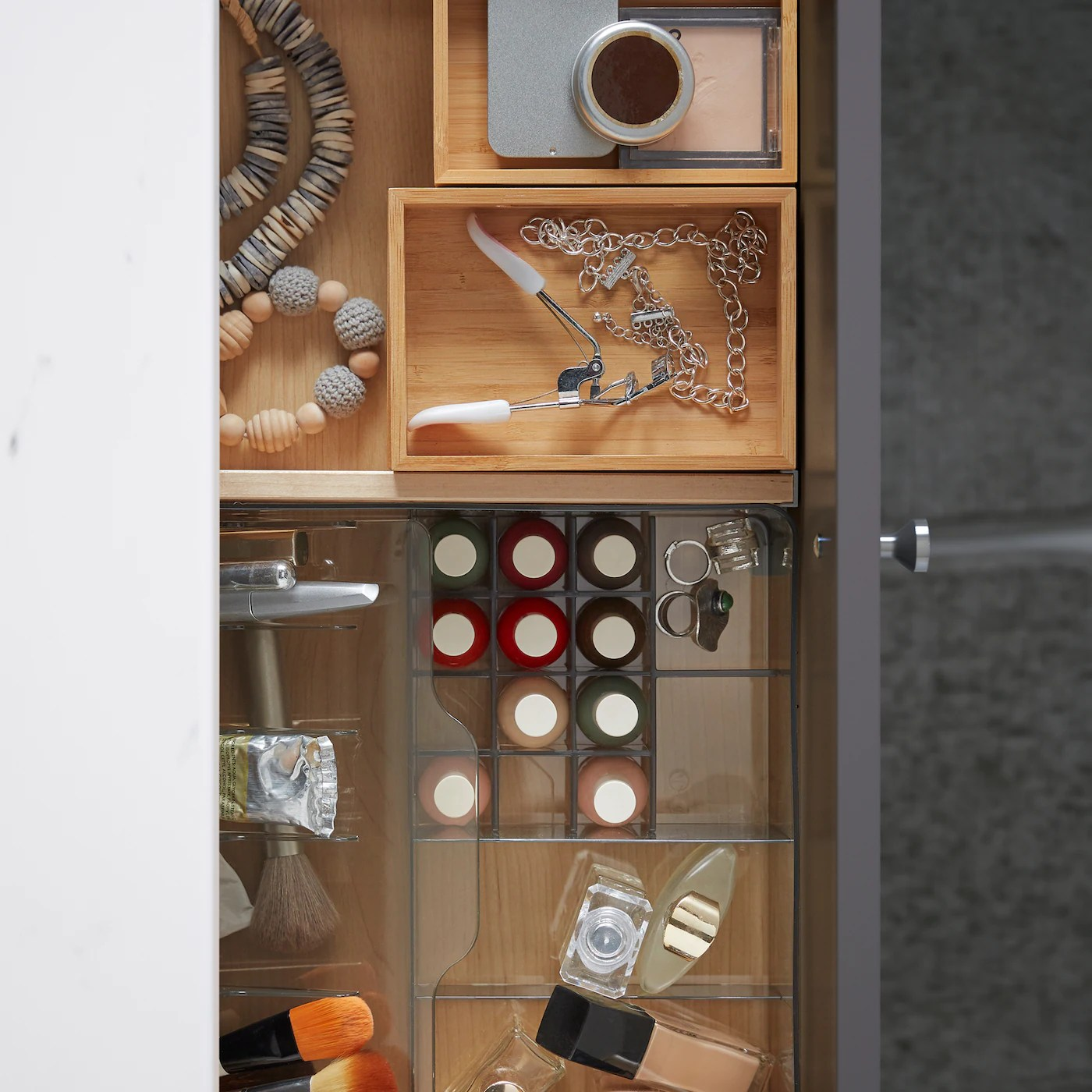 Rangement Astucieux Et Elegant Pour La Salle De Bain Ikea