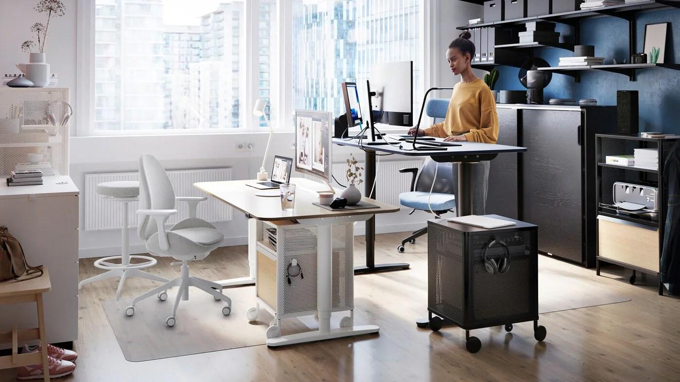 Scrivanie ikea e postazioni lavoro per casa; Idee E Suggerimenti Per Il Tuo Ufficio Ikea It