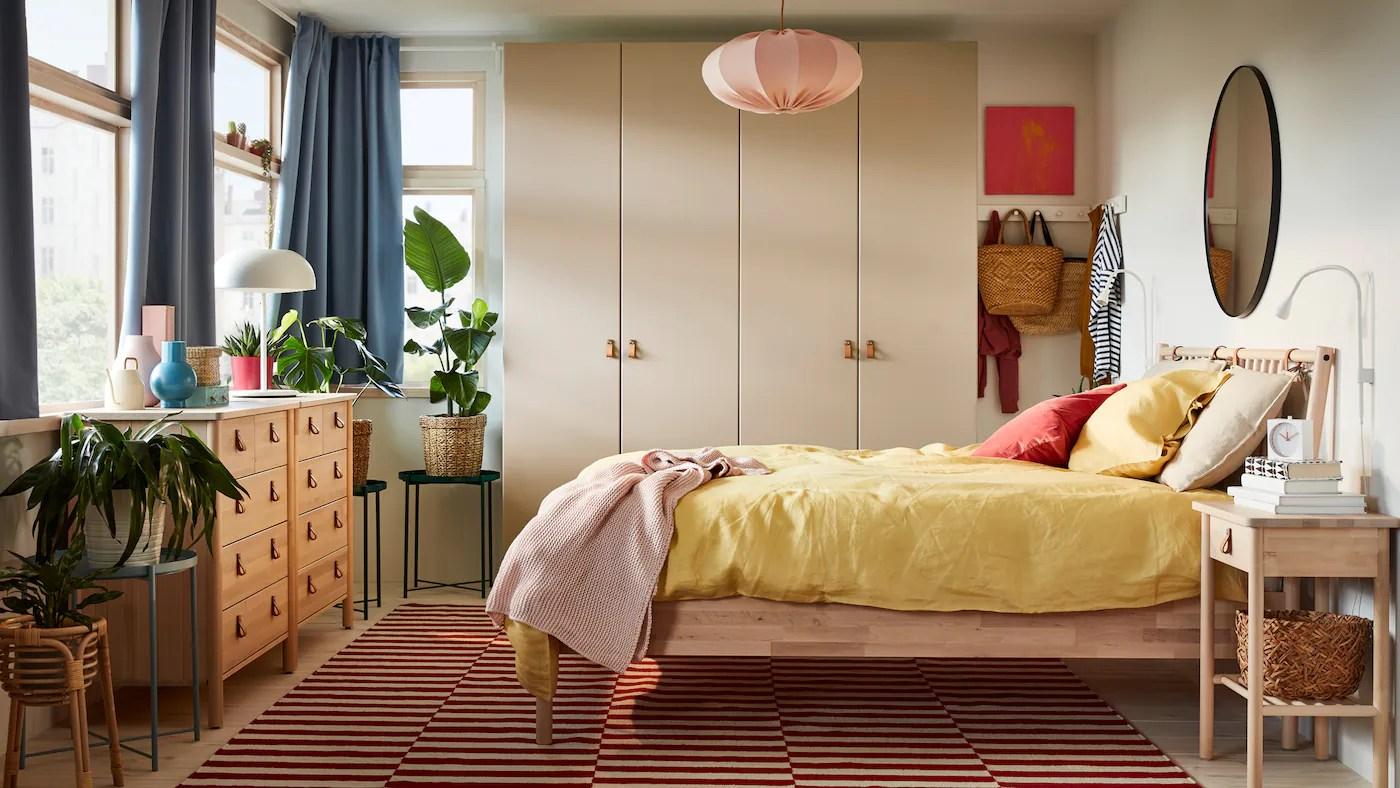 inspiration pour la chambre ikea