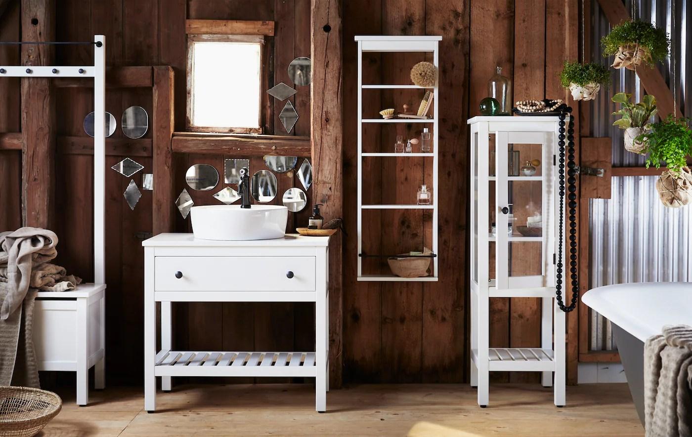 Nouveau Mobilier De Salle De Bain Hemnes Ikea