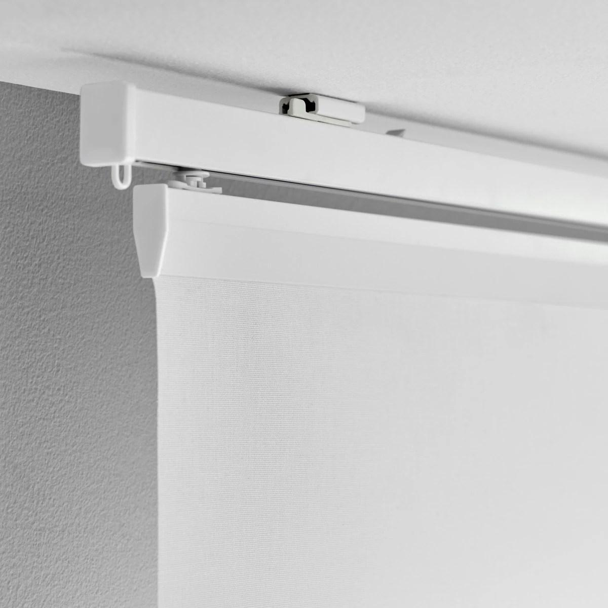 Anche io sto per mettere le tende a pannelli in soggiorno. Vidga Curtain Rails And Curtain Rail System Ikea Switzerland