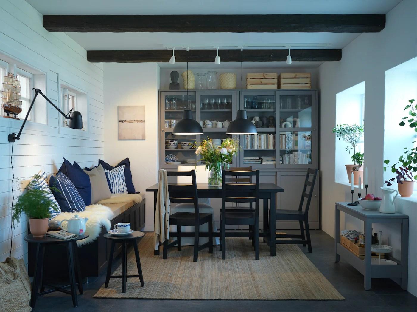 Una Sala Da Pranzo Dallo Stile Tradizionale Ikea