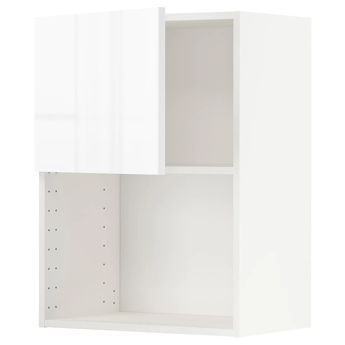 metod wall cabinet for microwave oven white ringhult white 60x37x80 cm 24x15x32