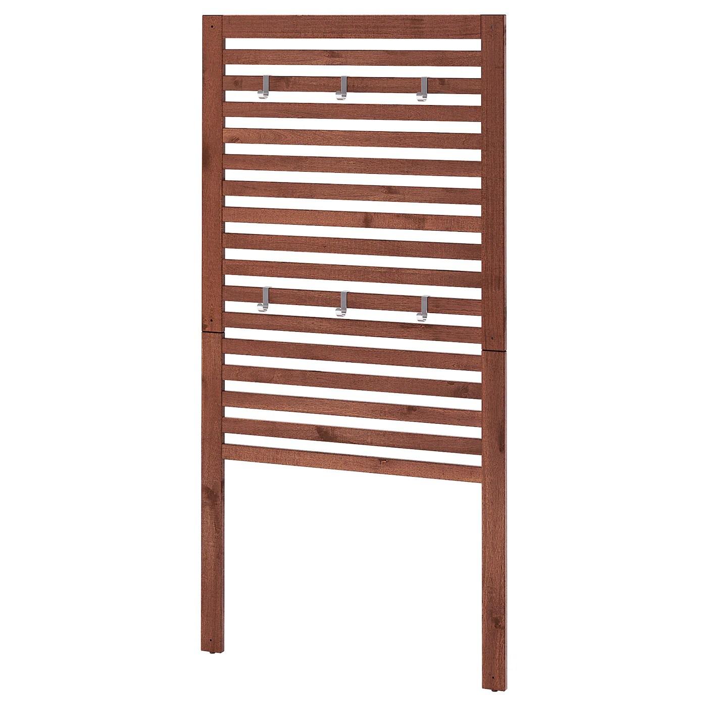 Tavole, pannelli in legno e cavalletti. Applaro Pannello Per Parete Da Esterno Marrone Mordente Marrone Ikea It