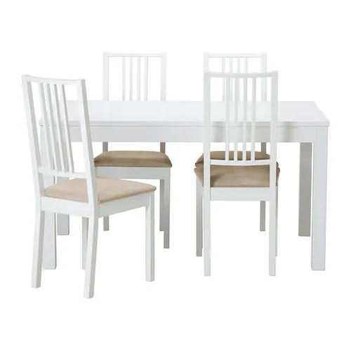 BJURSTA / BÖRJE Tavolo e 4 sedie - IKEA