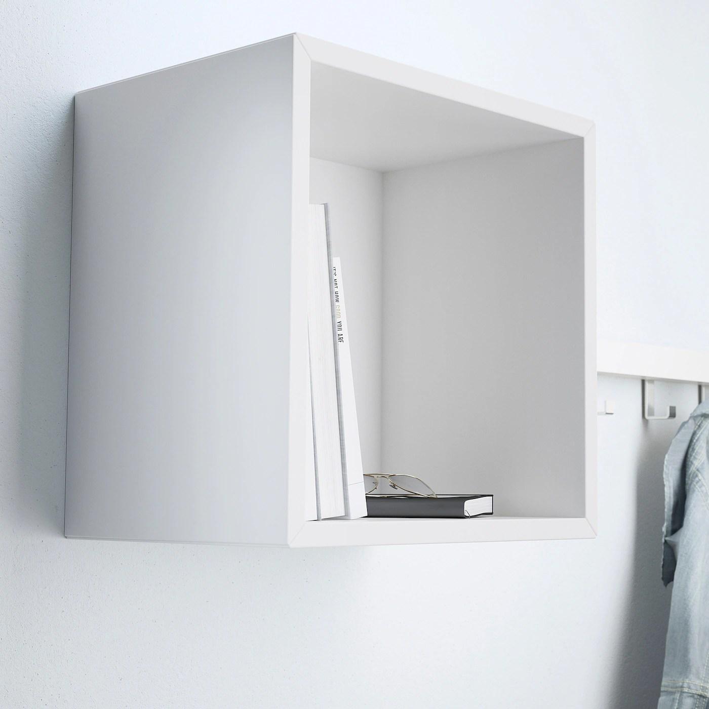 Paroladordine ingresso cassetti e mensole ha effetto mensole ikea leroy merlin e design consigli e foto. Eket Scaffale Da Parete Bianco Ikea It