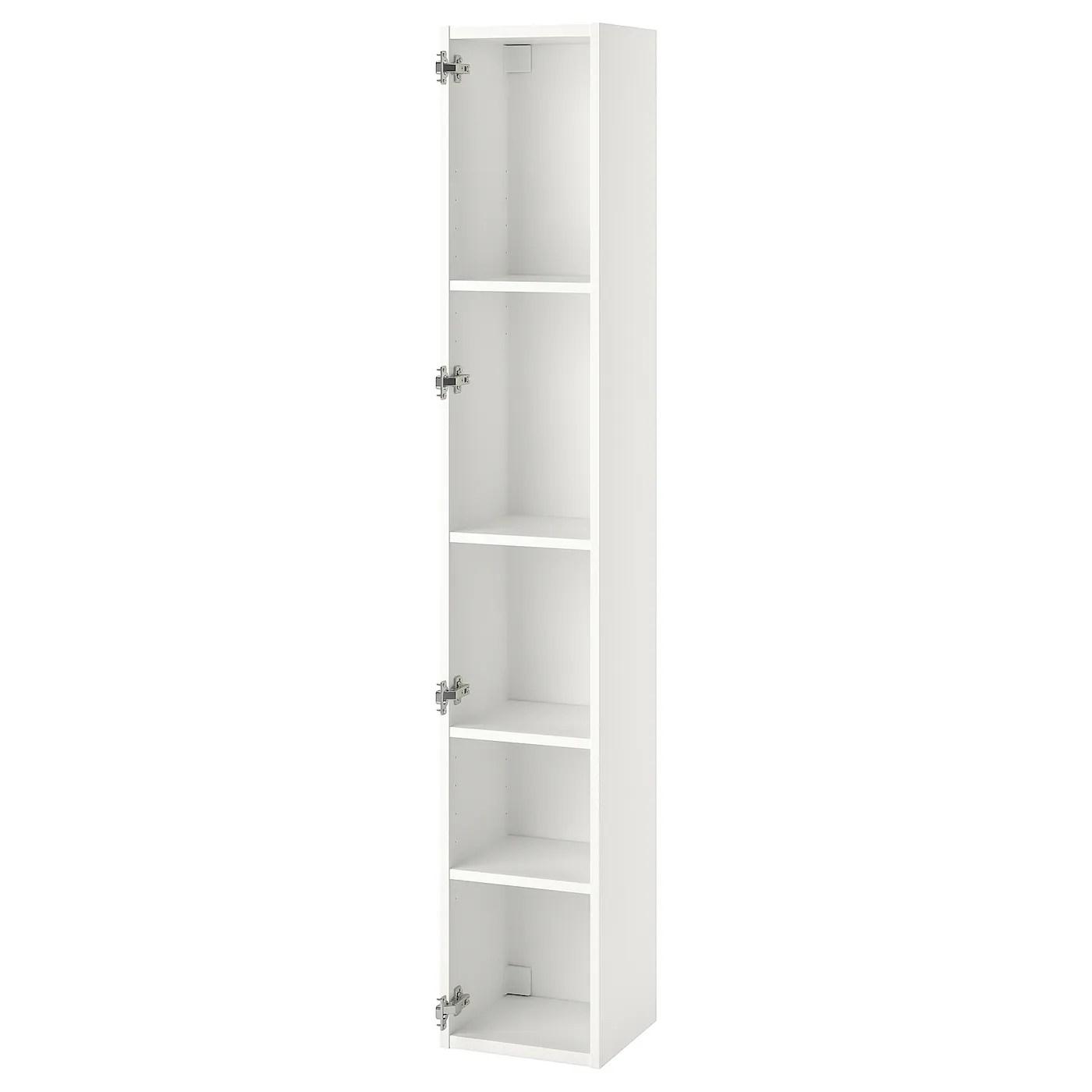 Per alcuni mobili la garanzia è di 10 anni, come anche per i miscelatori per la cucina. Enhet Mobile Alto Con 4 Ripiani Bianco 30x30x180 Cm Ikea It
