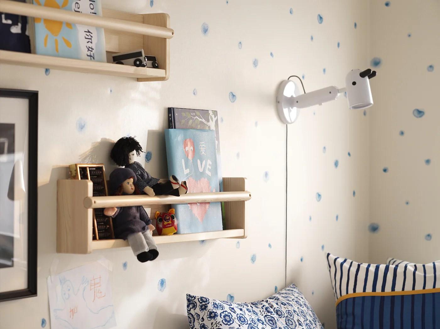 Meglio lo scaffale bekväm di ikea in versione libreria per bambini? Flisat Elemento Da Parete 70x9x16 Cm Ikea It