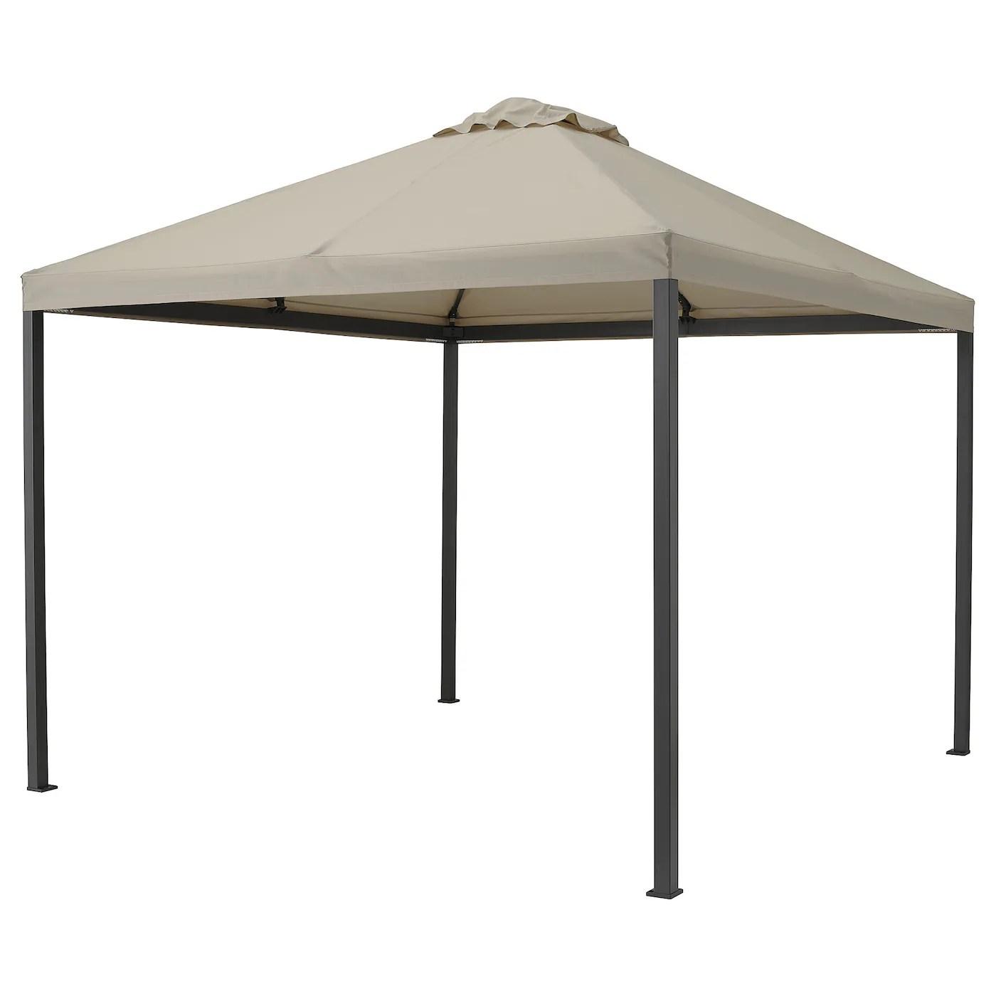Il gazebo è una sorta di padiglione aperto, che permette di arricchire il giardino. Gazebo Ikea It