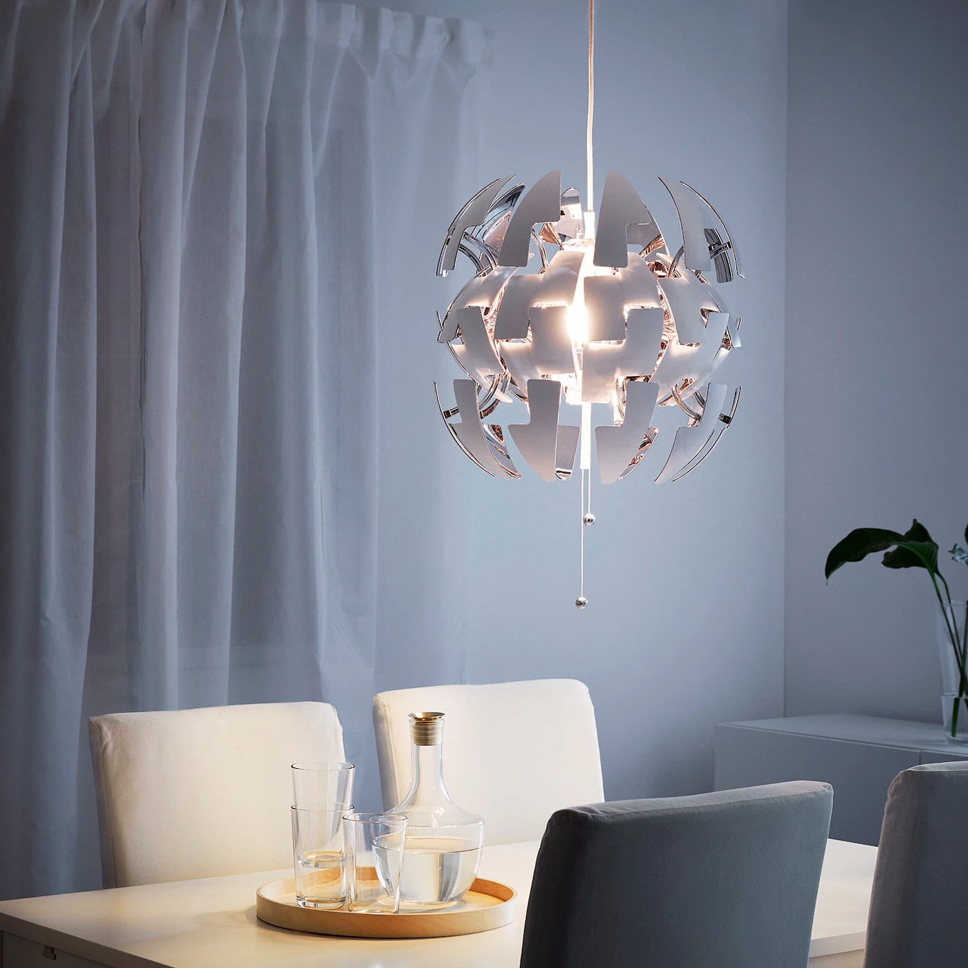 This compensation may impact how and where products appear on th. Ikea Ps 2014 Lampada A Sospensione Bianco Color Argento 35 Cm Ikea It