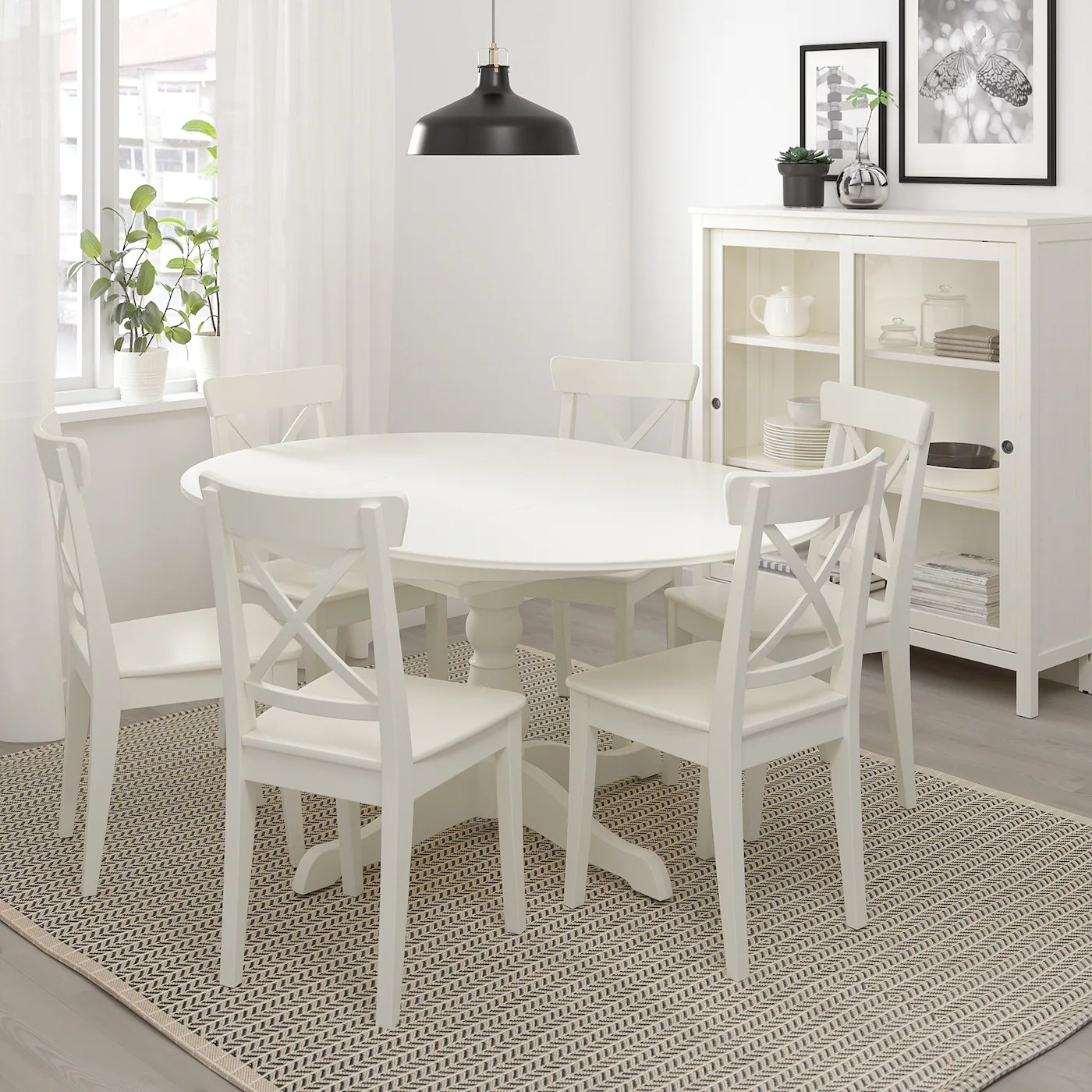 In foto il tavolo allungabile bianco ingatorp, prezzo 279 euro. Ingatorp Tavolo Allungabile Bianco Scopri I Dettagli Del Prodotto Ikea It