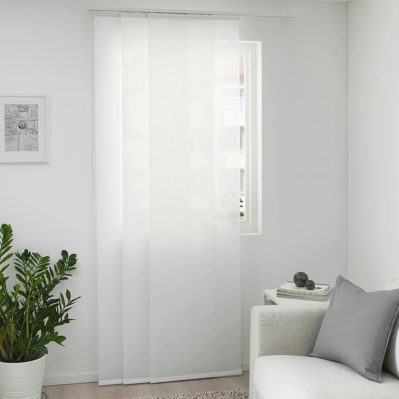 Divisori da stanza, scaffalature divisorie stanza, divisorio,. Ingjerd Tenda A Pannello Bianco 60x300 Cm Ikea It