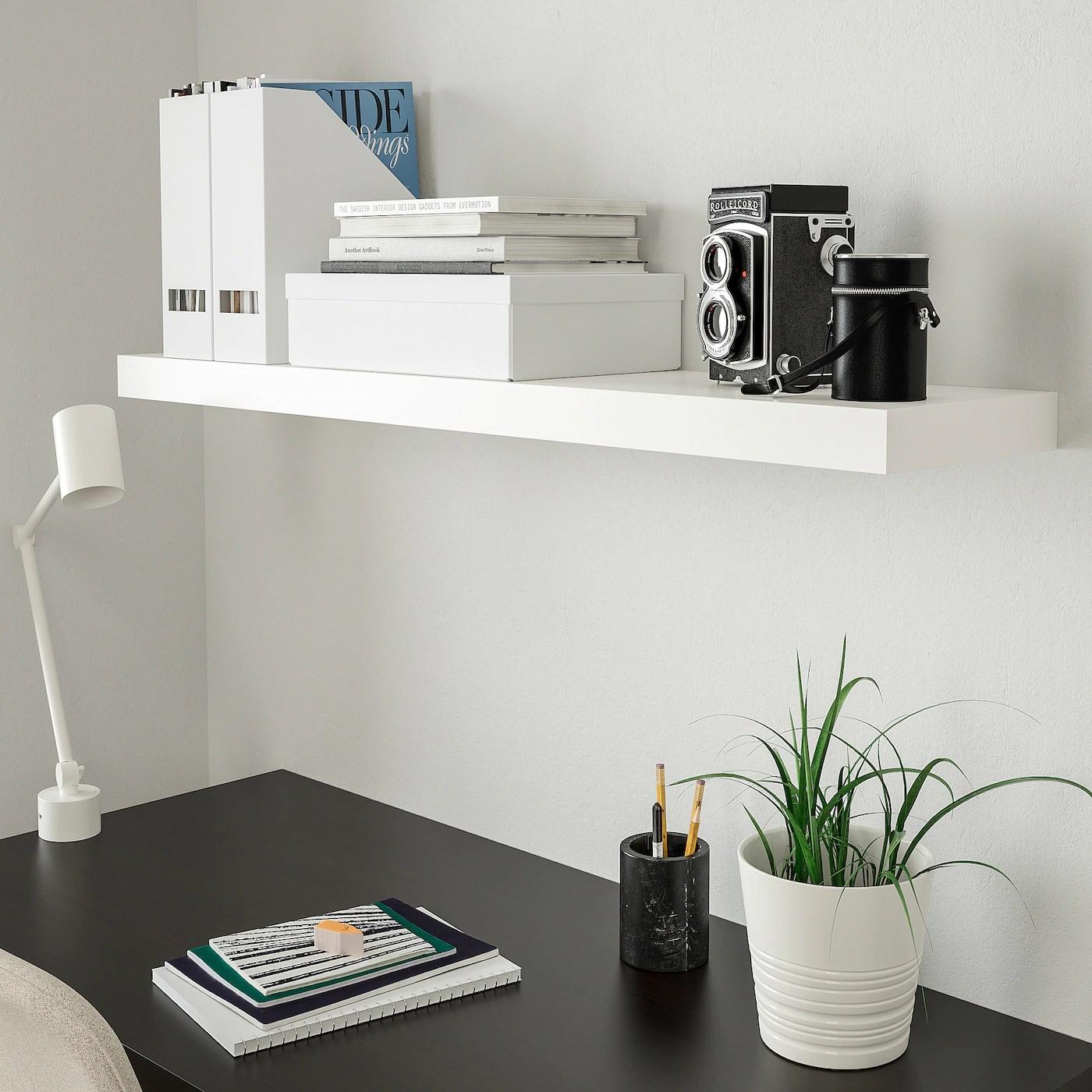 Scopri le nostre praticissime mensole e ordina subito i tuoi prodotti. Lack Mensola Bianco 110x26 Cm Ikea It